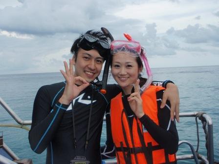 8月23日 魚に囲まれて@ラチャヤイ島_d0086871_2062093.jpg