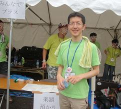 東京プライドパレードのボランティア_f0121982_10152946.jpg