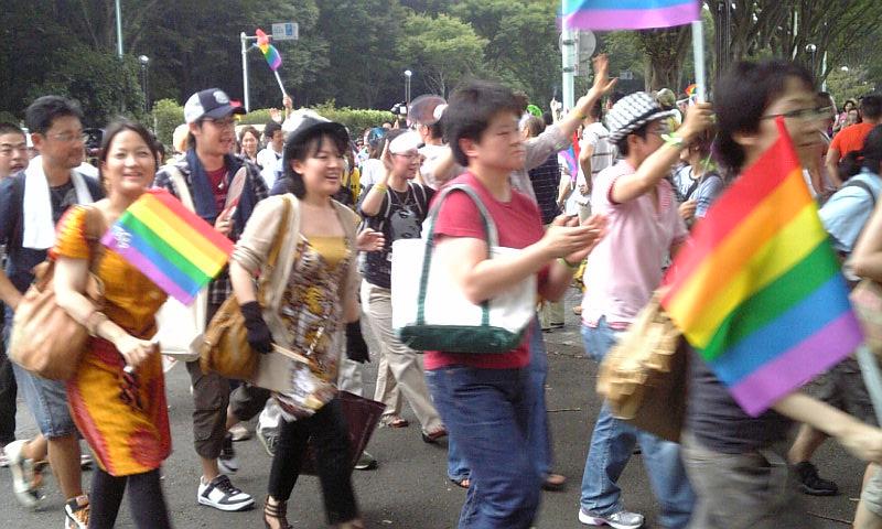 東京プライドパレードを歩く_f0121982_1024277.jpg