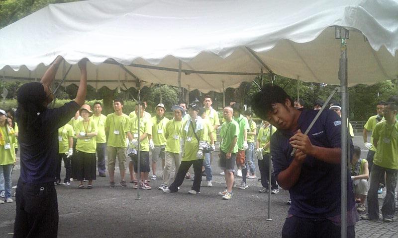 東京プライドパレードのボランティア_f0121982_9211259.jpg