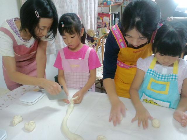 夏休み親子パン教室_c0106100_22102273.jpg