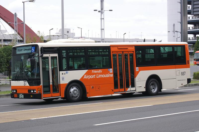 リムジンのエアロスターワンステップ : BUSSTOP (巴士站)