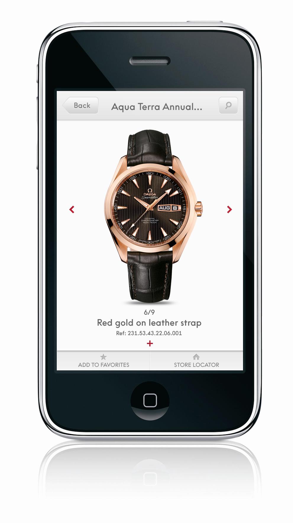 オメガが無料iPhoneアプリを公開_f0039351_1803314.jpg