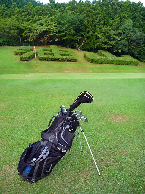 8/24 早朝油山ゴルフ場 練習ラウンド _b0042282_19594180.jpg
