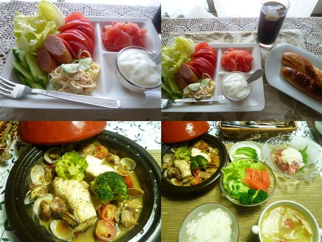 白身魚料理の定番になりつつあるアクアパッツア_b0175688_20471235.jpg