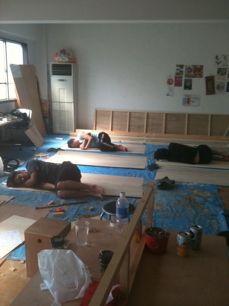 2010夏。僕のバカンスは川崎で稽古。そして、その稽古録その6_c0156791_9583411.jpg