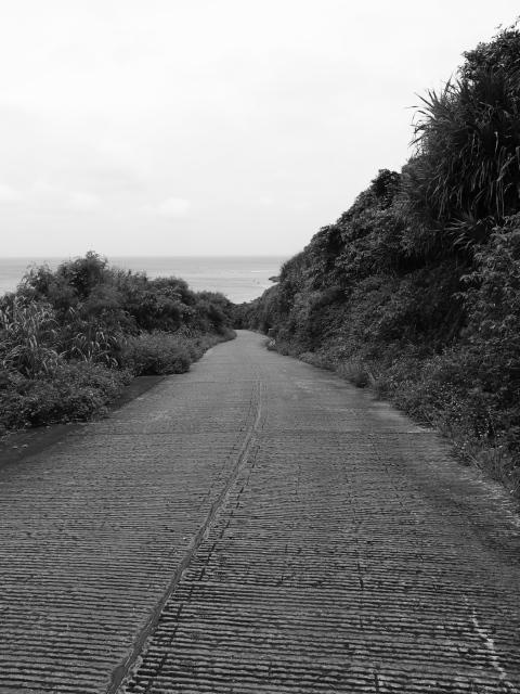 沖縄の風景 この先は新城海岸_f0024992_8342736.jpg