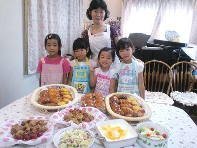 夏休み親子パン教室_c0106100_8303156.jpg