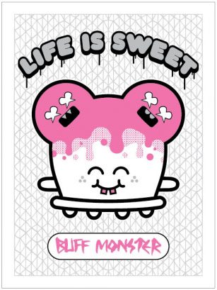 Life is Sweet Print by Buff Monster_c0155077_0422287.jpg