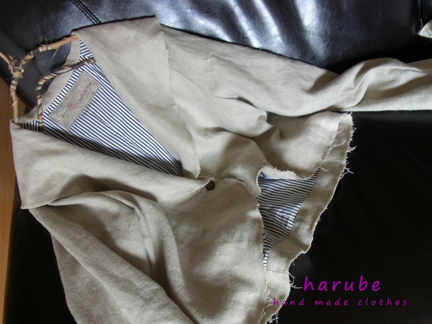 ショールカラーのジャケット。。。_a0152283_843359.jpg