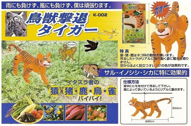 『鳥獣撃退タイガー』_e0124490_13413712.jpg