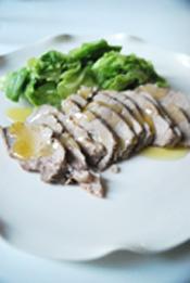 豚肉のセイロ蒸し ほうじ茶の香り_b0150295_19331764.jpg