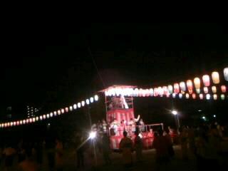 盆踊り_f0061797_23412818.jpg