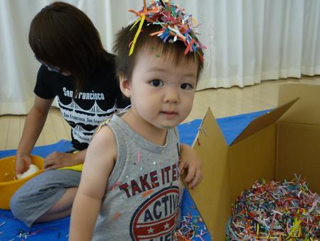 はじめての造形親子教室〜8月の様子_f0215199_19561013.jpg