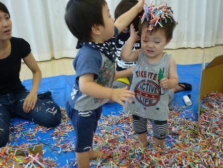 はじめての造形親子教室〜8月の様子_f0215199_19575876.jpg