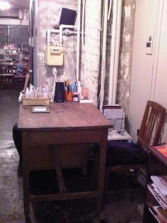 念願の大きな机。とlife.のデザート。_b0088100_235417.jpg