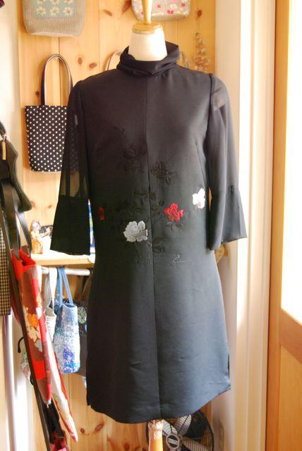 着物リメイク・羽織のチュニック_d0127925_13131470.jpg