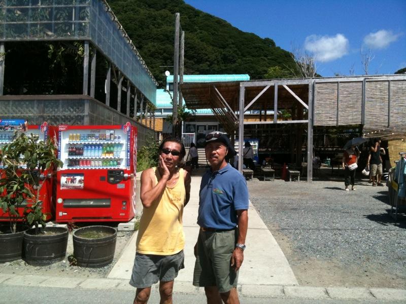 保田「ばんや」で昼食  2010/08_f0209434_2292393.jpg