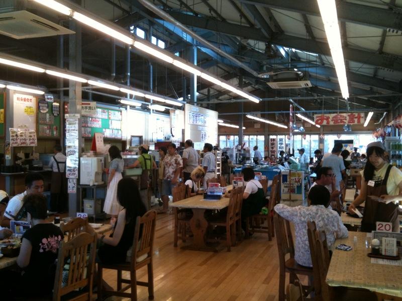 保田「ばんや」で昼食  2010/08_f0209434_2294486.jpg