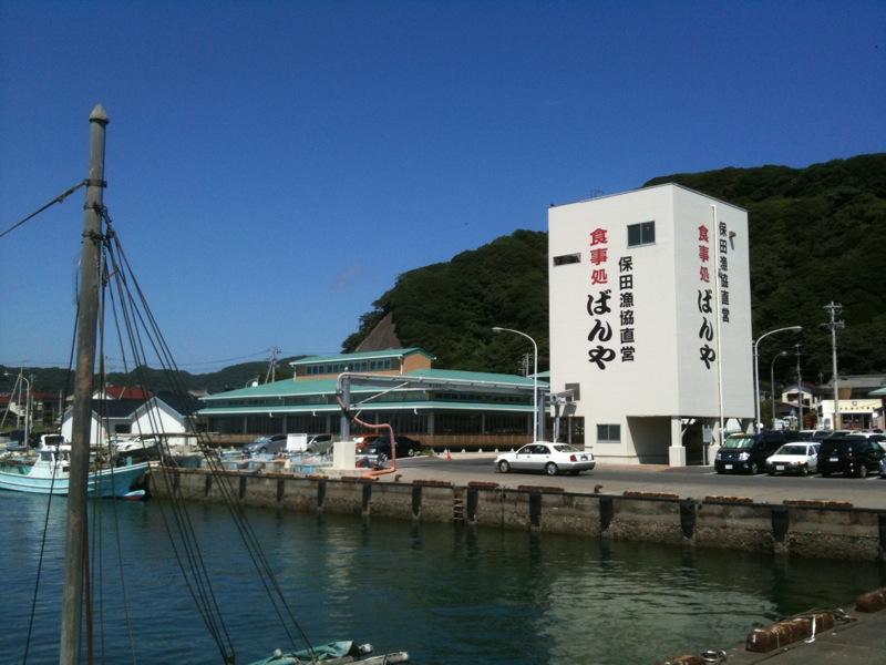 保田「ばんや」で昼食  2010/08_f0209434_229581.jpg