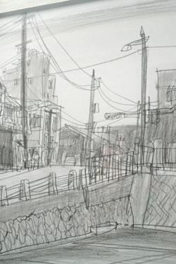 drawing~堀越克哉作品展 始まりました!_a0017350_0223631.jpg