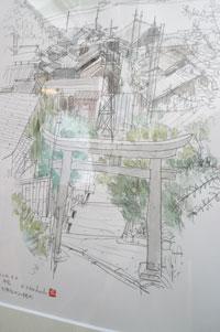 drawing~堀越克哉作品展 始まりました!_a0017350_022381.jpg