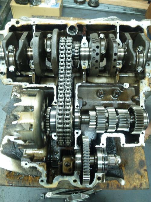 CB750K0 エンジンオーバーホール その4_a0163159_22285375.jpg