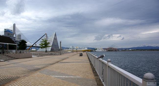 浜のモモちゃん (十三湖にて)_a0136293_13235526.jpg