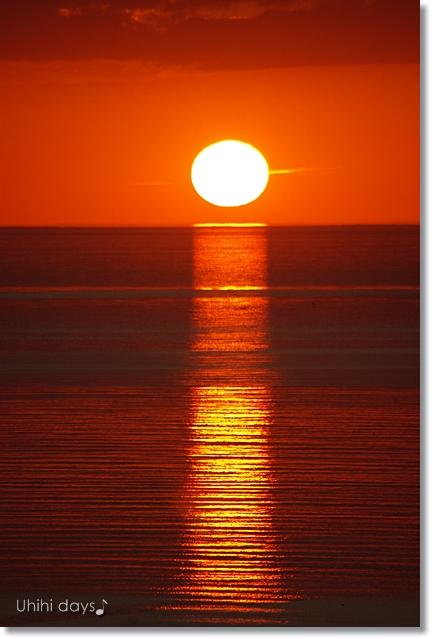知床ウトロの黄金の夕陽 と 羅臼岳登山_f0179404_21305465.jpg