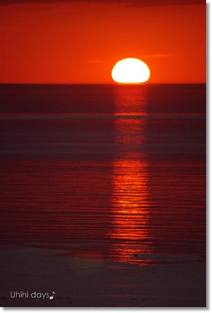 知床ウトロの黄金の夕陽 と 羅臼岳登山_f0179404_21311127.jpg
