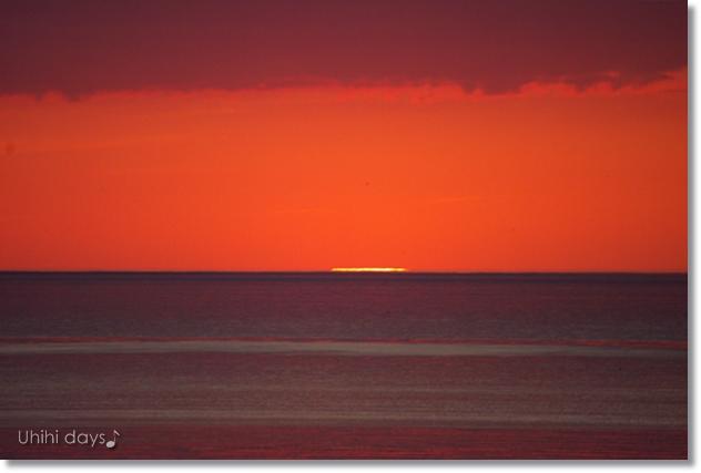 知床ウトロの黄金の夕陽 と 羅臼岳登山_f0179404_21321258.jpg