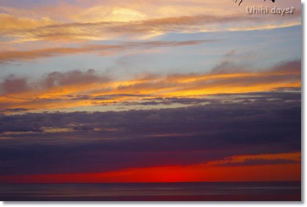 知床ウトロの黄金の夕陽 と 羅臼岳登山_f0179404_21323237.jpg