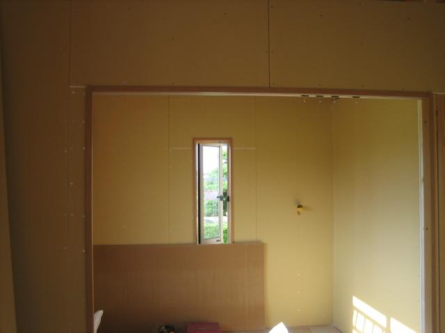 A邸新築工事進行状況_c0218716_17462174.jpg