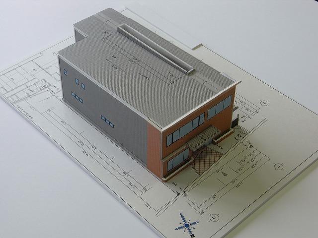 S事務所 完成模型_c0194417_18402164.jpg
