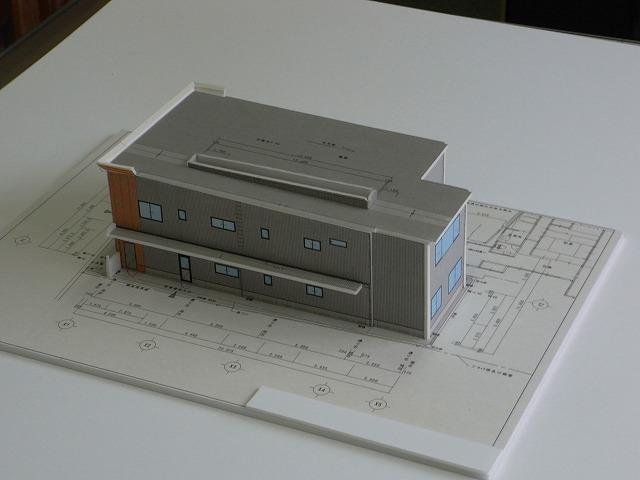 S事務所 完成模型_c0194417_18411226.jpg