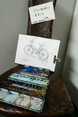 drawing~堀越克哉作品展 堀越さんてこんな人_a0017350_040485.jpg