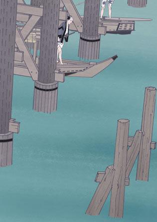 猪牙舟(ちょきぶね) : わくわく挿絵帖