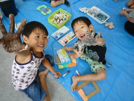 8月の教室「写真たて」_f0215199_22263565.jpg