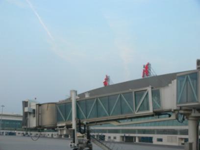中国出張2010年04月-第一日目-北京空港T3国内便ラウンジ_c0153302_1111320.jpg