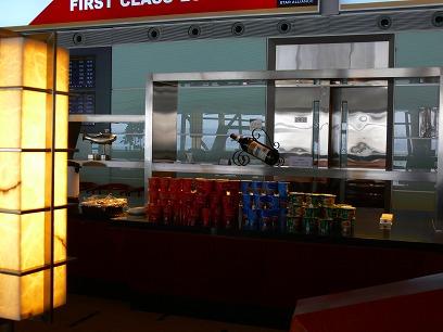 中国出張2010年04月-第一日目-北京空港T3国内便ラウンジ_c0153302_1192716.jpg