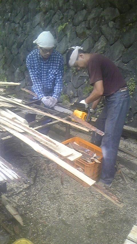登り窯の準備_e0126218_7474065.jpg