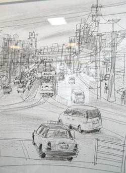 drawing~堀越克哉作品展 潔い線の魅力_a0017350_23331175.jpg