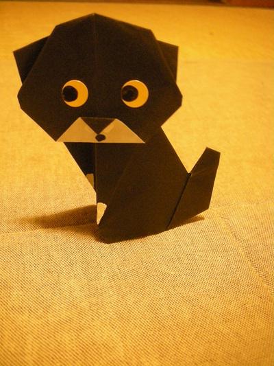 ハート 折り紙:折り紙 ネコ-maheru.exblog.jp