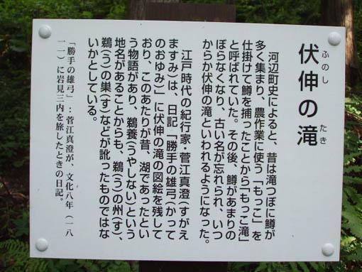 伏伸(ふのし)の滝_f0019498_2055627.jpg
