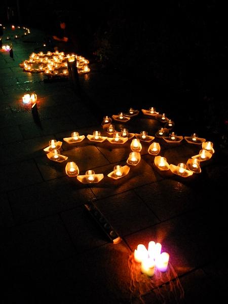 第十四回 ろうそく祭り 高崎観音山 万灯会_c0177814_1454919.jpg
