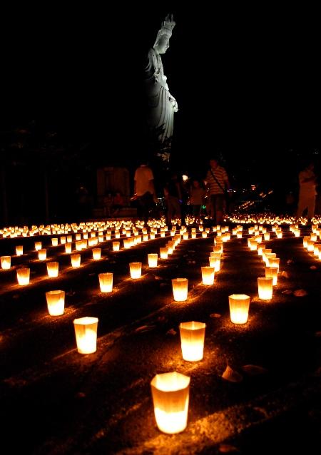 第十四回 ろうそく祭り 高崎観音山 万灯会_c0177814_14554918.jpg