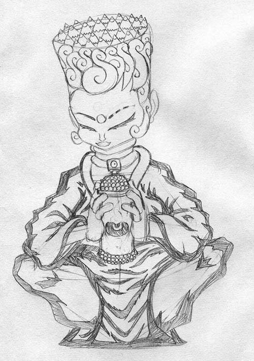 Art Dabutsu Tomenosuke Exclusive by Erick Scarecrow - 1_a0077842_1138204.jpg