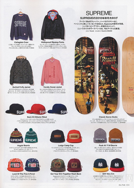 Supreme Fall/Winter 2010 Collection On Cool Trans _a0118453_22292046.jpg