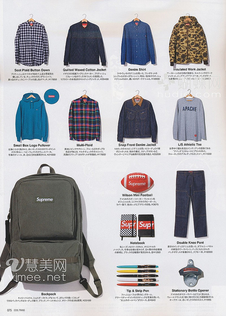 Supreme Fall/Winter 2010 Collection On Cool Trans _a0118453_22292926.jpg