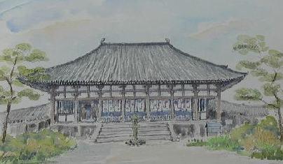 <2010年6月>伊勢路・奈良の旅(その3):「奈良・西ノ京の国宝寺」_c0119160_10491561.jpg